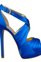 Nine West Peep Toe Pump - Lyst