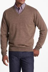 Peter Millar Merino Wool V neck Sweater - Lyst