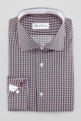 Robert Graham Lyon Gingham Dress Shirt Black - Lyst