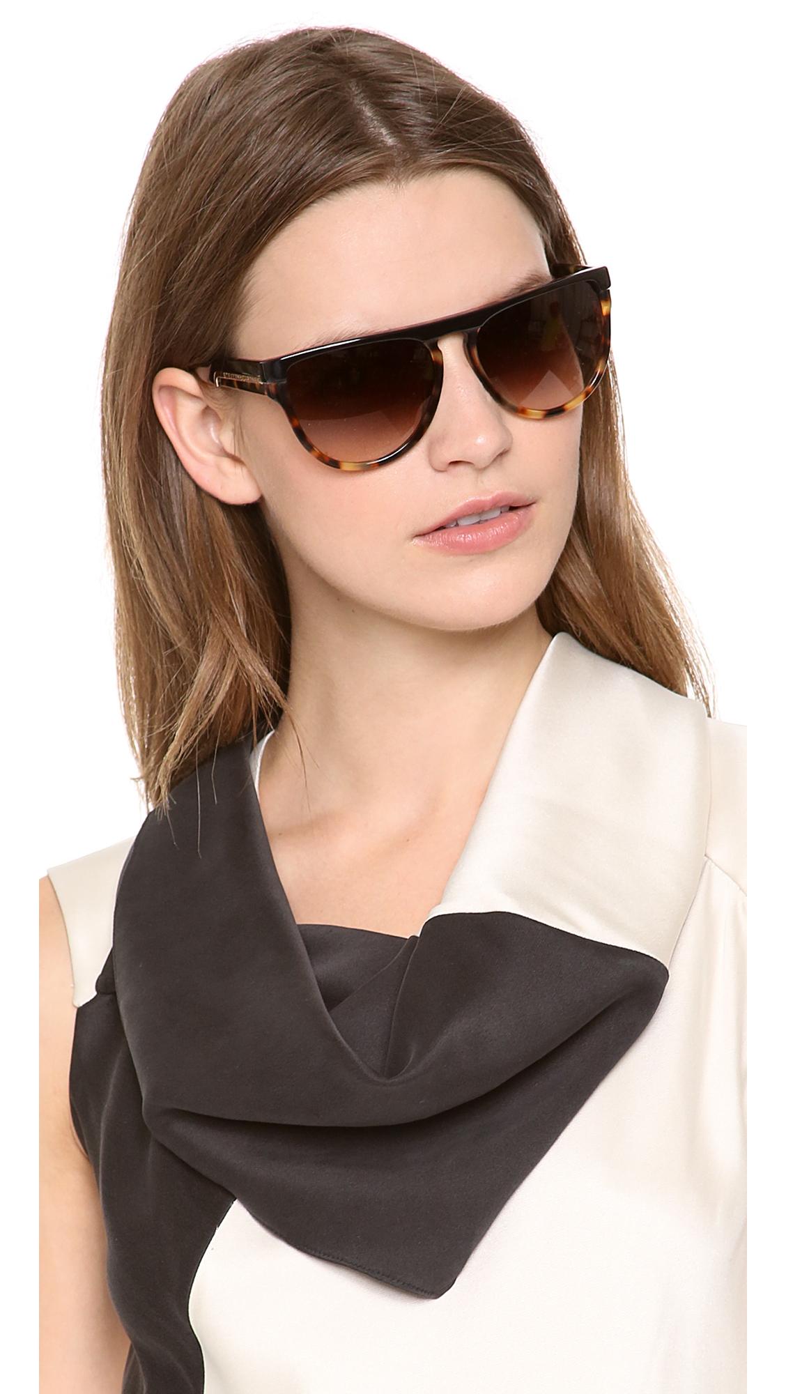 d00e780c776 ray Ban Boyfriend 60mm Flat Top Sunglasses