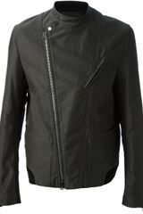 3.1 Phillip Lim Slim Fit Moto Biker Jacket - Lyst