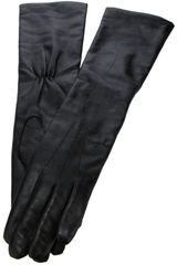 Ann Demeulemeester Leather Gloves - Lyst