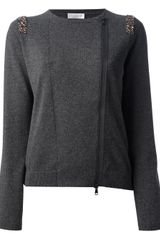 Brunello Cucinelli Gem Detail Sweater - Lyst