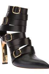 Casadei Buckled Boot - Lyst