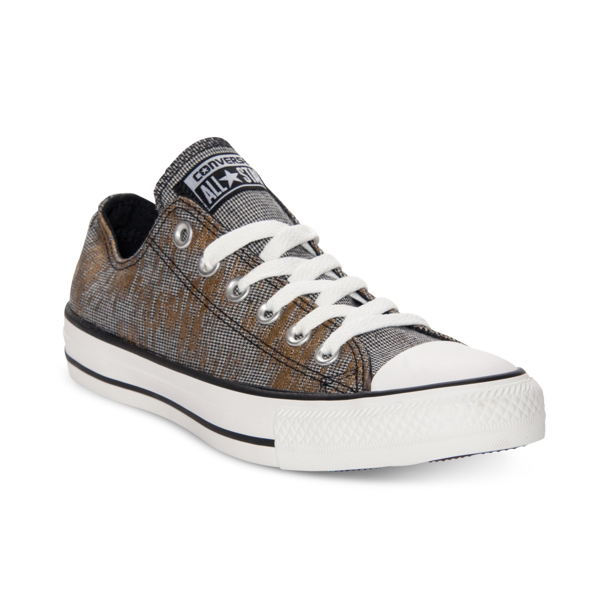 Converse chuck taylor ox casual sneakers in gray lyst - Graue converse ...