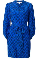 Diane Von Furstenberg Shirt Dress - Lyst
