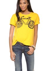 Edun Bicycle Tee - Lyst