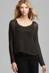 Eileen Fisher Knotted Twist Box Top - Lyst