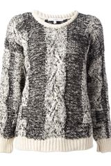 Iro Chunky Knit Sweater - Lyst