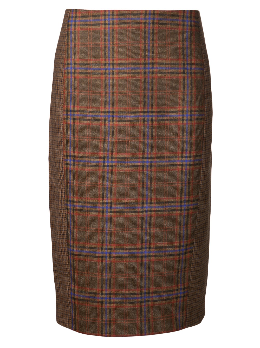 Lyst - Jenni Kayne Cut Out Pencil Skirt In Brown-5326