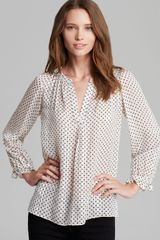 Marc By Marc Jacobs Top Minetta Dot Print - Lyst