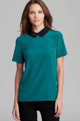 Marc By Marc Jacobs Top Alex Silk - Lyst
