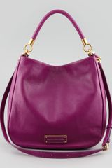 Marc By Marc Jacobs Too Hot To Handle Hobo Bag Magenta - Lyst