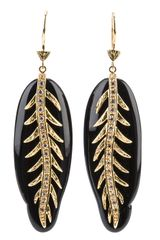 Miriam Salat Feather Earring - Lyst