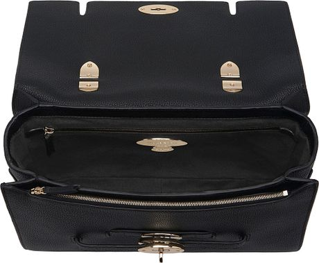 Mulberry Bayswater Shoulder Bag Black 89