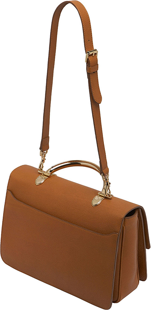 c7a502fae3 Mulberry Bayswater Grainy Leather Shoulder Bag in Brown - Lyst