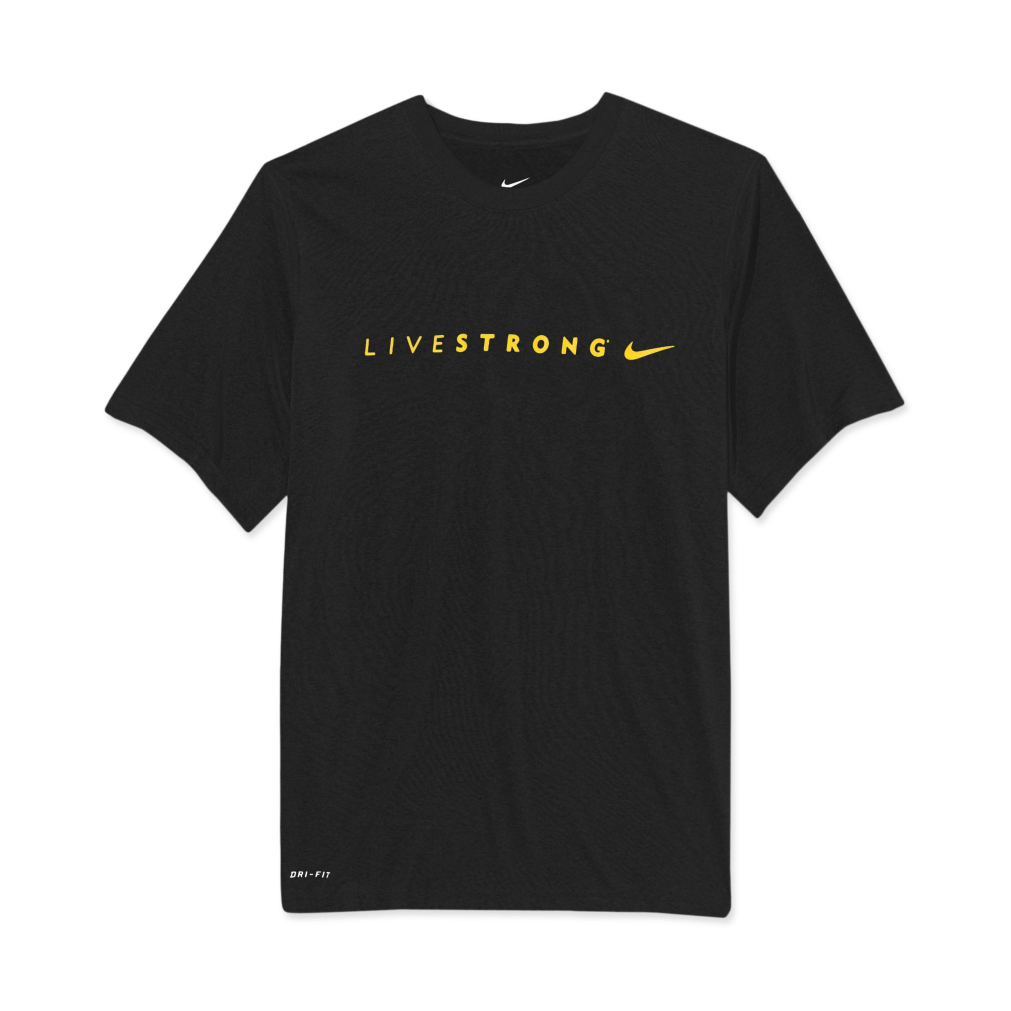Lyst Nike Livestrong Legend Running T Shirts In Black