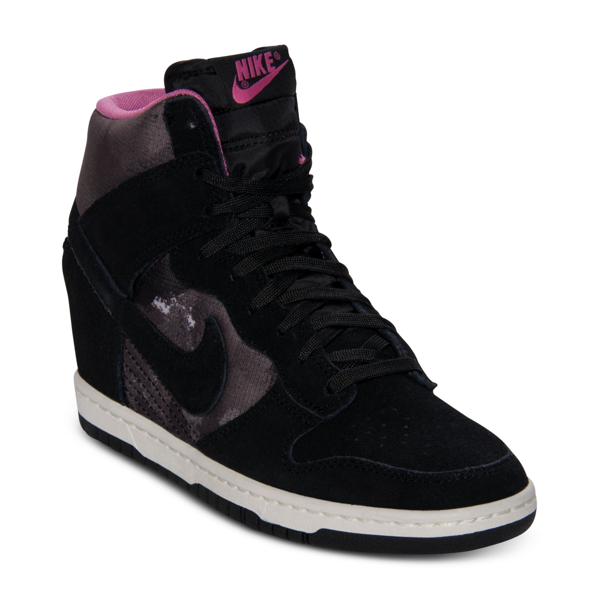 huge discount 48179 27baf Gallery. Previously sold at  Macy s · Women s Nike Dunk Women s Nike Dunk  Sky Hi