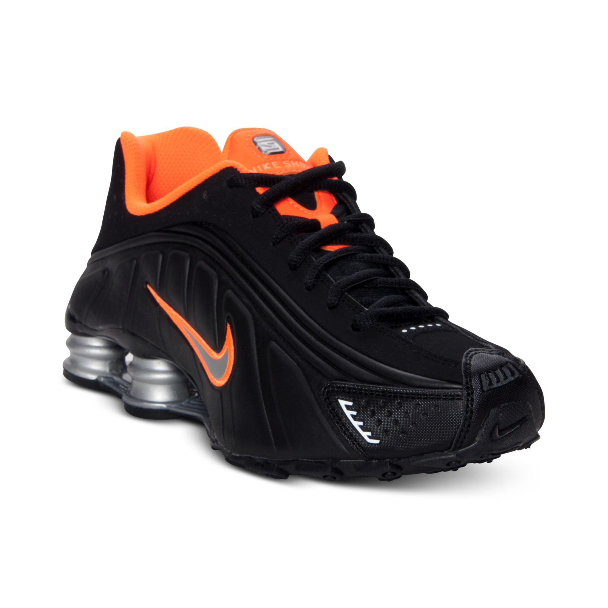 Lyst - Nike Boys Shox R4 Running Sneakers in Black af9963949