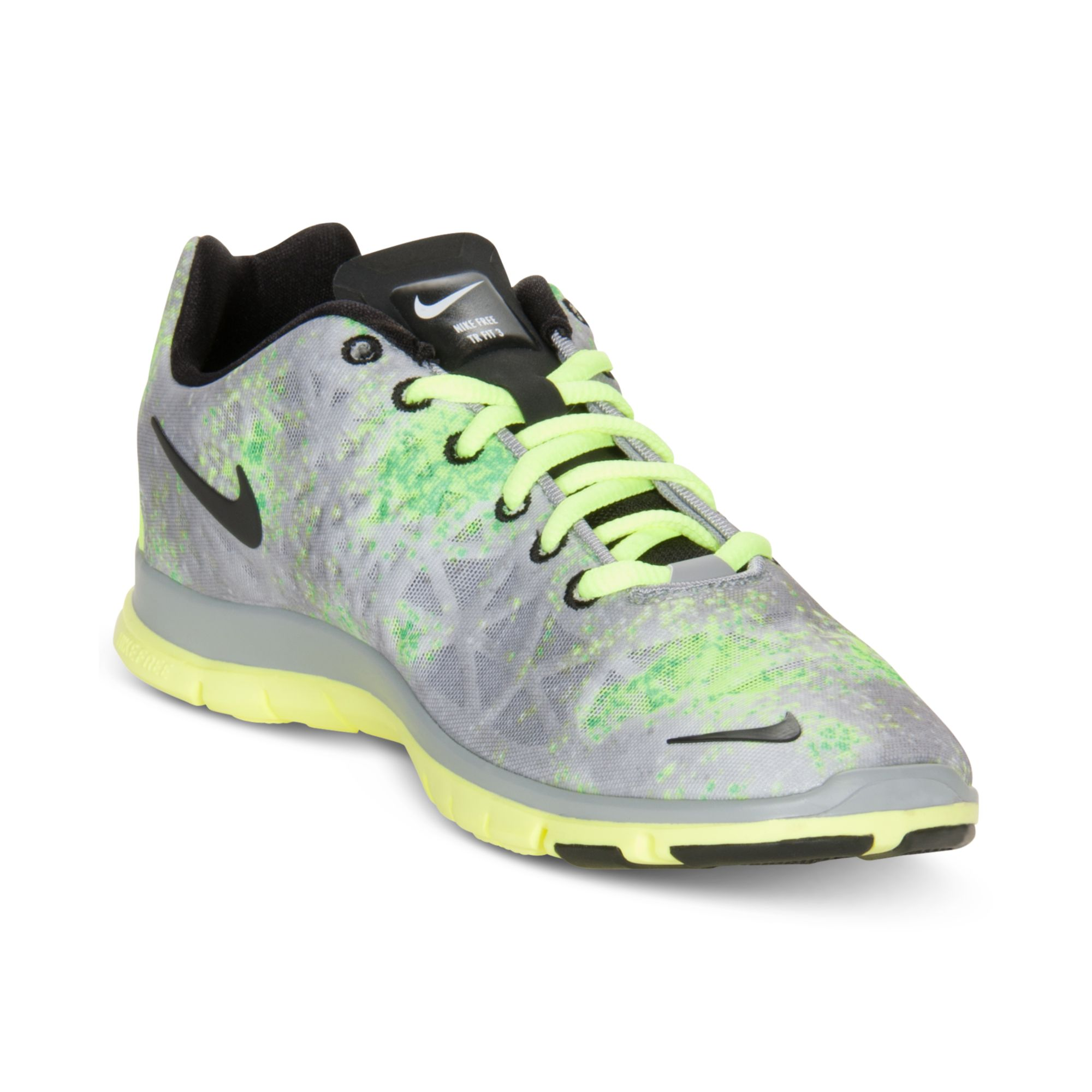 new product eaf88 54da9 Lyst - Nike Free Tr Fit 3 Print Sneakers