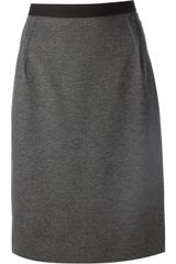 Paul Smith Black Label Pencil Skirt - Lyst