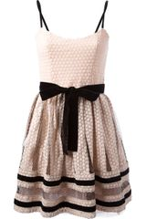 RED Valentino Bow Dress - Lyst