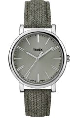 Timex® Womens Premium Originals Sage Green Leather Strap 38mm T2p174ab - Lyst