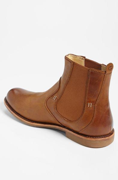 Innovative Ugg Stevenson Chelsea Boots In Chestnut