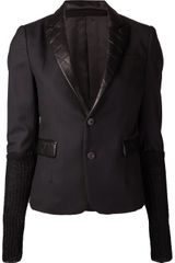 Undercover Leather Jacket - Lyst