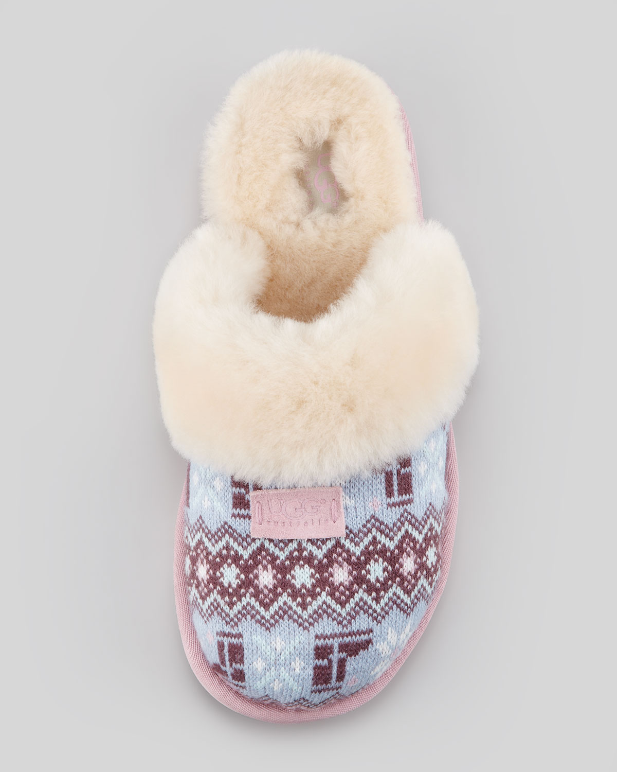 Cosy Knit Heart Ugg Slippers Famous Slipper 2018