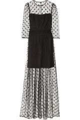 Alice By Temperley Celia Polkadot Tulle Maxi Dress - Lyst