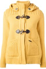 Bark Hooded Cardigan - Lyst