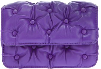 Benedetta Bruzziches Quilted Leather Clutch - Lyst