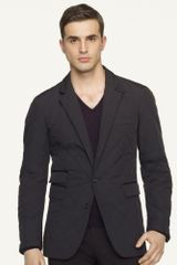 Black Label Quilted Hacking Sport Coat - Lyst