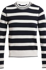 Chloé Striped Wool-blend Jumper - Lyst