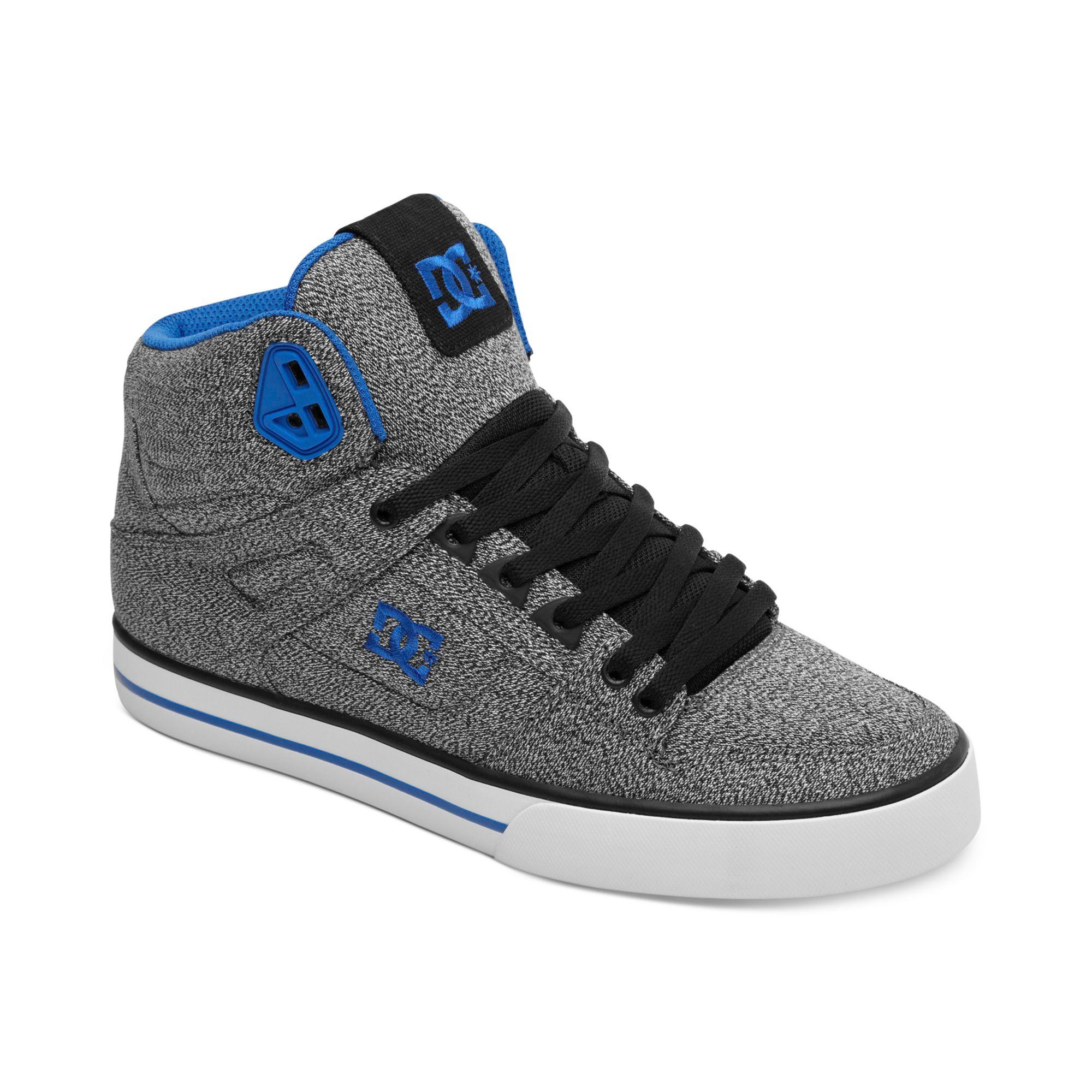 Dc Shoes Hi Top Blue