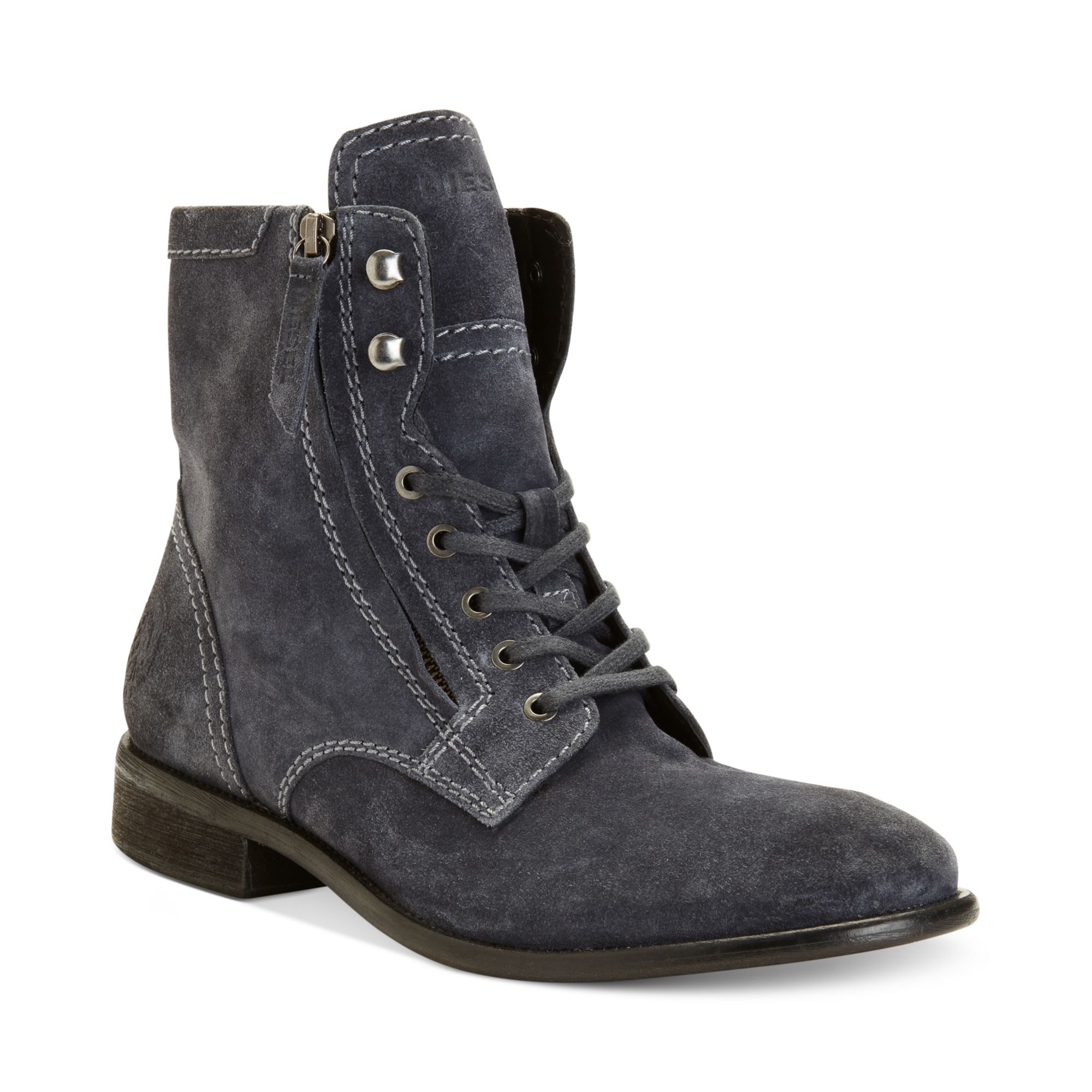 diesel miliboot themil boots in gray for castlerock