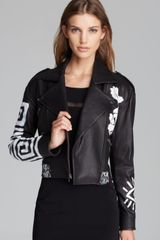 Elizabeth And James Leather Jacket Erwan - Lyst