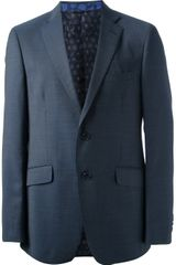 Etro Wool Suit - Lyst