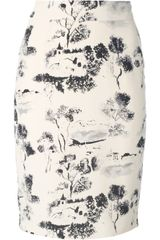 Forte Forte Printed Pencil Skirt - Lyst