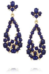 Kenneth Jay Lane Goldplated Swarovski Crystal and Resin Earrings - Lyst
