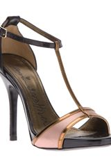 Lanvin T-bar Stiletto - Lyst