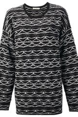 Mary Katrantzou Crew Neck Knitted Sweater - Lyst
