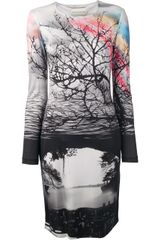 Mary Katrantzou All Pattern Crew Neck Dress - Lyst
