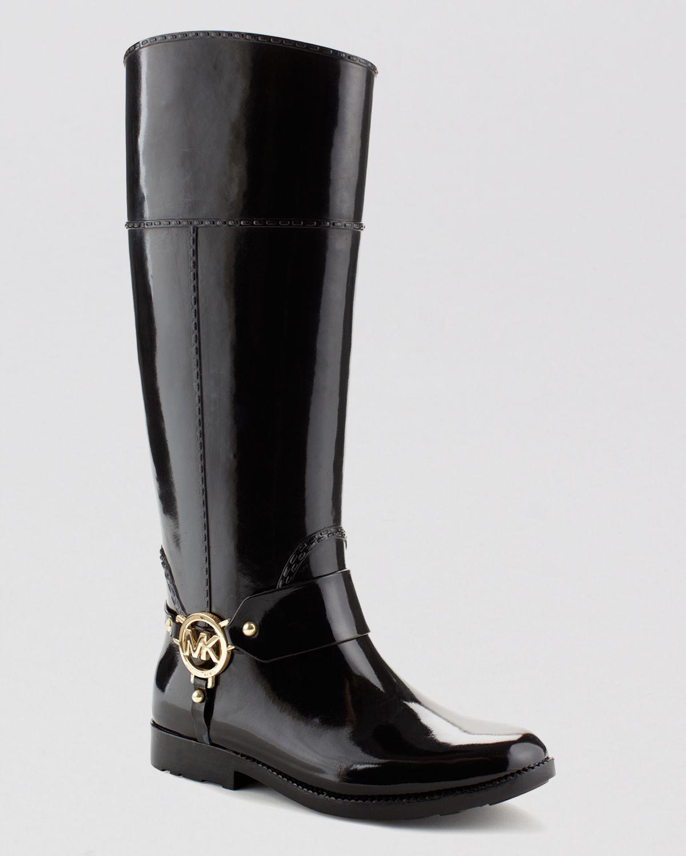 Michael Michael Kors Tall Harness Rain Boots Fulton In