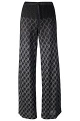 Missoni Knitted Wide Leg Trouser - Lyst