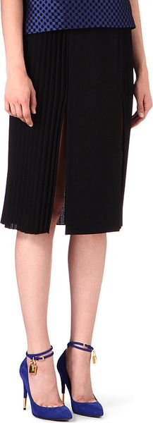 Osman Yousefzada Pleated Sides Skirt - Lyst