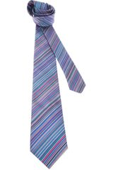 Paul Smith Striped Tie - Lyst