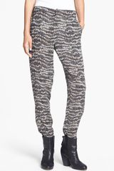 Rag & Bone Leisure Print Silk Pants - Lyst