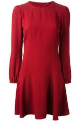 RED Valentino Flared Dress - Lyst